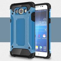 Armor 2v1 odolný obal na Samsung Galaxy J5 (2016) - světlemodrý