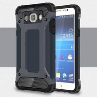 Armor 2v1 odolný obal pre Samsung Galaxy J5 (2016) - tmavomodrý