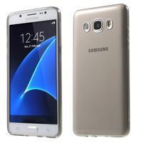 Ultratenký slim gelový obal na Samsung Galaxy J5 (2016) - šedý