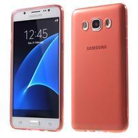 Ultratenký slim gelový obal na Samsung Galaxy J5 (2016) - červený