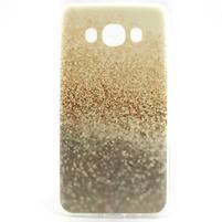 Flexi obal na mobil Samsung Galaxy J5 (2016) - zlatý písek