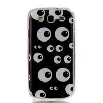 Gélový obal pre mobil Samsung Galaxy S3 - kukuč