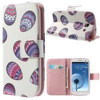 Funy puzdro pre mobil Samsung Galaxy S3 - malovaná vajíčka