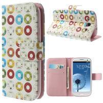 Funy pouzdro na mobil Samsung Galaxy S3 - disky