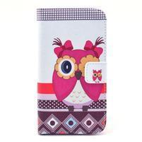 Pictu puzdro pre mobil Samsung Galaxy S3 - sova