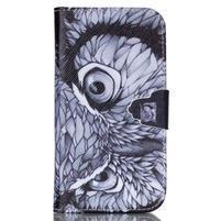 Emotive peňaženkové puzdro pre Samsung Galaxy S3 - sova