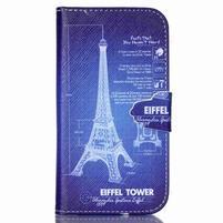 Emotive peňaženkové puzdro pre Samsung Galaxy S3 - Eiffelova veža