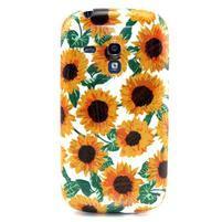 Gélový obal pre mobil Samsung Galaxy S3 mini - slunečnice