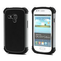 Outdoor odolný obal pre mobil Samsung Galaxy S3 mini - šedý
