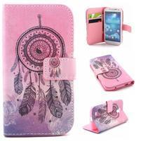 Standy peňaženkové puzdro pre Samsung Galaxy S4 - snívanie