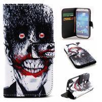 Standy peňaženkové puzdro pre Samsung Galaxy S4 - monstrum