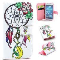Standy peňaženkové puzdro pre Samsung Galaxy S4 - lapač snov