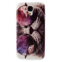 Ultratenký slim gélový obal pre Samsung Galaxy S4 - cool mačka