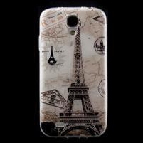 Slim gelový obal na mobil Samsung Galaxy S4 - Eiffelova věž