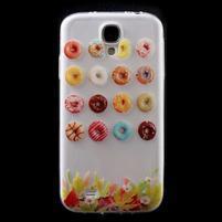 Slim gélový obal pre mobil Samsung Galaxy S4 - donuts