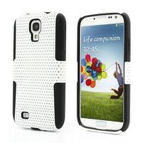 Odolný obal pre mobil Samsung Galaxy S4 - biely