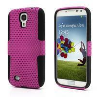 Odolný obal pre mobil Samsung Galaxy S4 - rose