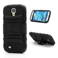 Odolný ochranný silikonový kryt na Samsung Galaxy S4 - černý