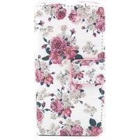 Puzdro na mobil Samsung Galaxy S4 mini - květiny