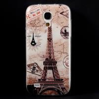 Gélový obal pre mobil Samsung Galaxy S4 mini - Eiffelova veža