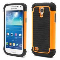 Extreme odolný kryt pre mobil Samsung Galaxy S4 mini - oranžový