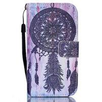 Diary peňaženkové puzdro pre mobil Samsung Galaxy S4 mini - dream
