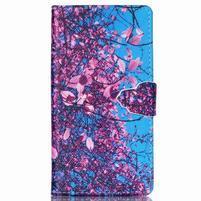 Emotive puzdro pre mobil Sony Xperia M4 Aqua - kvitnúce strom