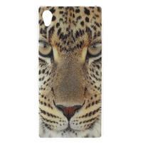 Emotive gelový obal na Sony Xperia M4 Aqua - leopard