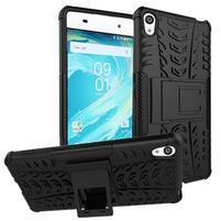 Outdoor odolný obal na mobil Sony Xperia XA - černý