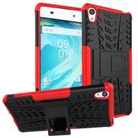 Outdoor odolný obal pre mobil Sony Xperia XA - červený