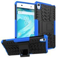 Outdoor odolný obal pre mobil Sony Xperia XA - modrý