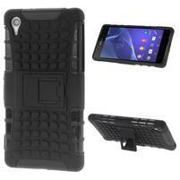 Outdoor odolný kryt pre mobil Sony Xperia Z2 - čierny