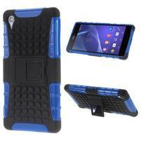 Outdoor odolný kryt pre mobil Sony Xperia Z2 - modrý