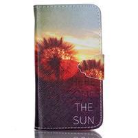 Emotive knížkové puzdro pre Sony Xperia Z3 Compact - východ slnka