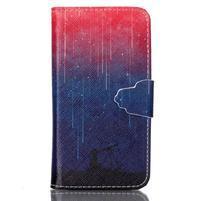 Emotive knížkové puzdro pre Sony Xperia Z3 Compact - meteory