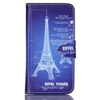 Emotive knížkové puzdro pre Sony Xperia Z3 Compact - Eiffelova veža
