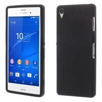 Silikónový obal pre mobil Sony Xperia Z3 - čierny