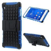 Outdoor ochranný kryt pre mobil Sony Xperia Z3 - modrý