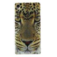 Gélový obal pre mobil Sony Xperia Z3 - leopard