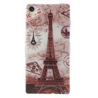 Ultratenký gélový obal pre mobil Sony Xperia Z3 - Eiffelova veža