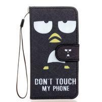 Leat peňaženkové puzdro pre Samsung Galaxy A3 (2016) - nesiahat
