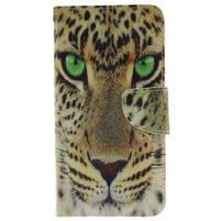Patt peňaženkové puzdro pre Samsung Galaxy A3 (2016) - leopard