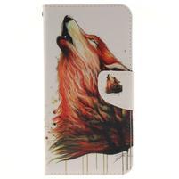 Patt peňaženkové puzdro pre Samsung Galaxy A3 (2016) - vlk