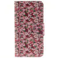Patt peněženkové pouzdro na Samsung Galaxy A3 (2016) - růže