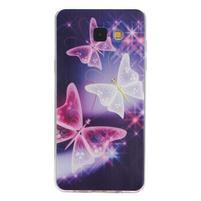Ultratenký slim obal pre mobil Samsung Galaxy A3 (2016) - čarovné motýle