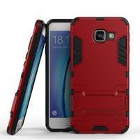 Outdoor odolný kryt pre mobil Samsung Galaxy A3 (2016) - červený
