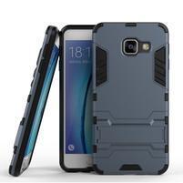 Outdoor odolný kryt pre mobil Samsung Galaxy A3 (2016) - tmavomodrý