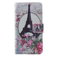 Fun peněženkové pouzdro na Samsung Galaxy A3 (2016) - Eiffelova věž