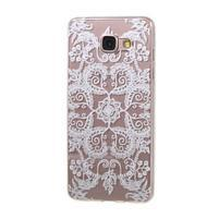 Miffs ultratenký gélový obal pre Samsung Galaxy A3 (2016) - ornament