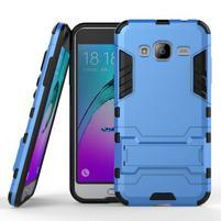 Outdoor odolný obal na Samsung Galaxy J3 - světlemodré